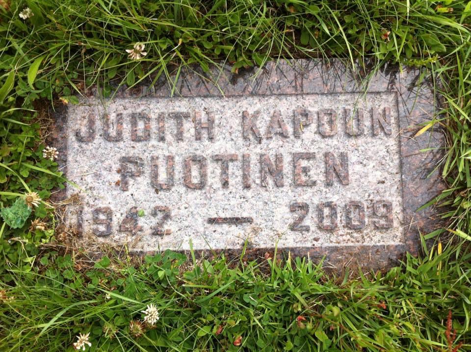 Mom's gravemarker